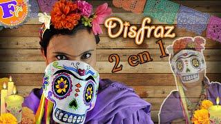 Disfraz de Frida Kahlo// Como hacer? //Disfraz doble