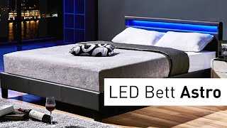 LED Bett Astro (Montagevideo)