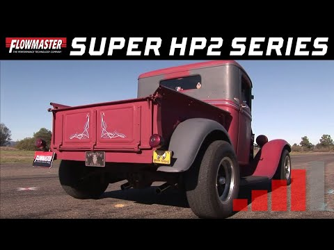 1932 Ford Rat Rod Pickup with Flowmaster Super HP-2 Mufflers