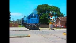 preview picture of video 'GM GT-22CW #A920 saliendo de La Banda con el adicional del Tren Nº265 (14-01-15)'