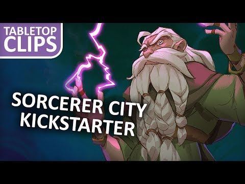 Casting Destructive Spells in Sorcerer City Board Game