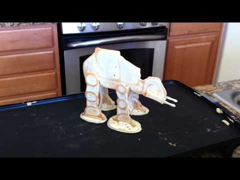 This Is An AT-AT Made Out Of Pancakes