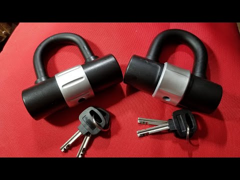 Harbor Freight Heavy Duty Bike Lock Review