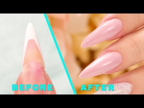 How To Fix a Cracked/Lifted Acrylic Nail