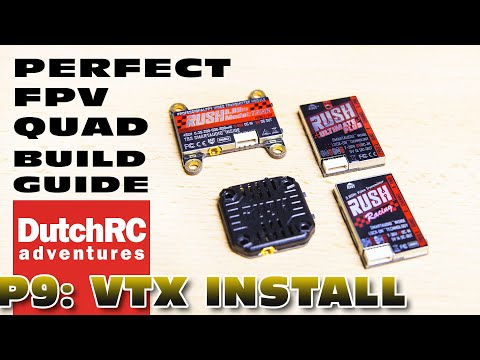What VTX to use, and how to install it