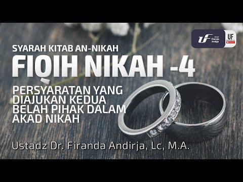 Fiqh Nikah #4 – Ustadz Dr. Firanda Andirja, M.A.