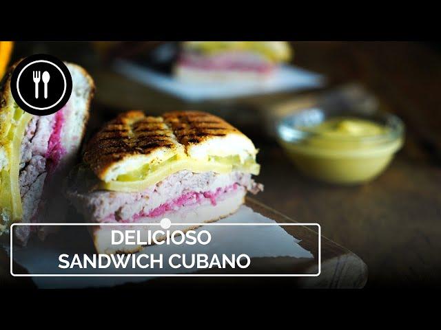 Cómo hacer un delicioso SANDWICH CUBANO