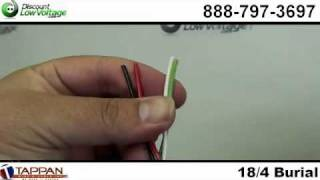 18/4 Direct Burial Cable - Black - Irrigation - Speaker Wire