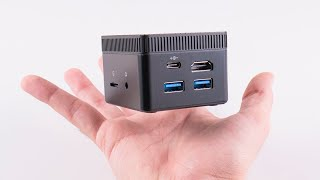 GAMING ON THE smallest 4K MINI PC