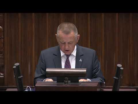 Marian Banaś w Sejmie o wyborach kopertowych. Posłowie wychodzą z sali
