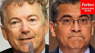 'You Sir, Are The One Ignoring Science': Rand Paul Battles Becerra Over COVID-19 Rules