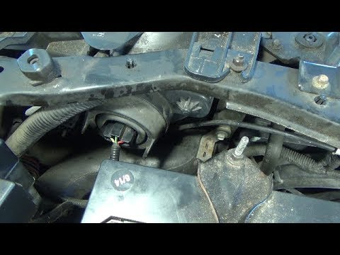 Headlight bulb replacement (2001-2004 Ford Escape)