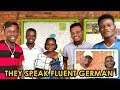 They've Never Been To Germany But Speak Fluent German || African Beauty!
