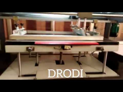 Sticker Flat Screen Printing Machine