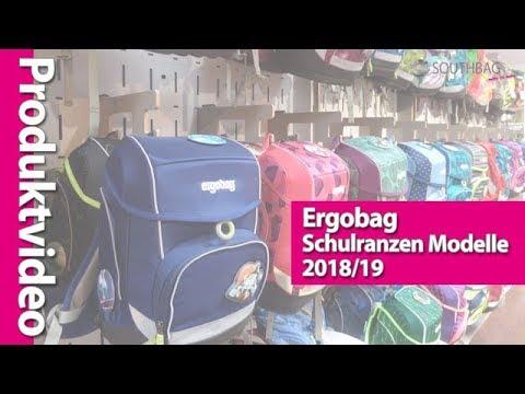 Ergobag Schulranzen Modelle 2018/19 im direkten Vergleich