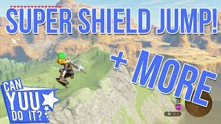 Super Shield Jump (BTB) + MORE in BotW - CYDI?