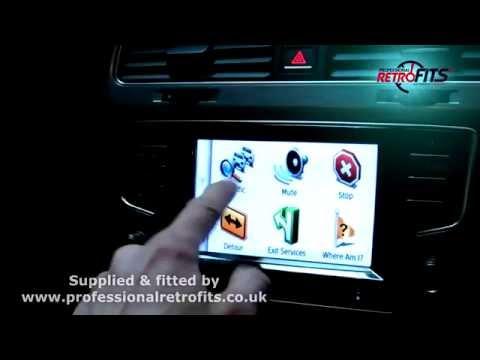 Volkswagen Kenwood MIB Nav Unit Video - смотреть онлайн на