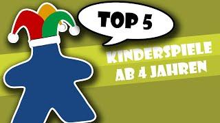 Top 5 Kinderspiele ab 4 Jahren