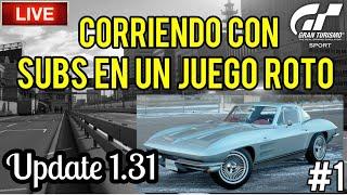 🔴 Directo de Gran Turismo Sport - Sábado con suscriptores en un juego roto | Update 1.31 (Parte 1)