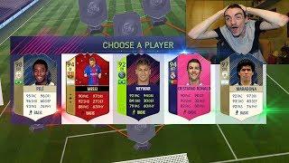 IL DRAFT PIÙ FORTE !!! FUT DRAFT CHALLENGE - FIFA 18 ULTIMATE TEAM ITA