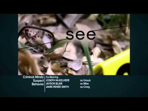 Criminal Minds: Suspect Behavior 1.08 (Preview)
