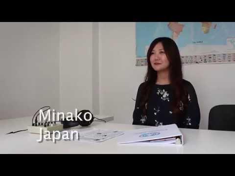 Studying English at CanPacific _Toronto_ Minako (Japan)