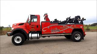 International 4x4 Challenger 20 Ton Tow Truck For Sale by CarCo Truck