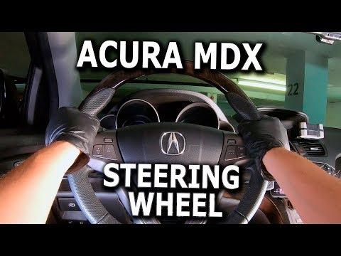 Acura MDX Accessory Wood Trim Steering Wheel