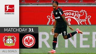Leverkusen 2-1 Frankfurt Pekan 31