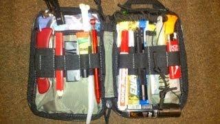 EDC Organizer ! Urban Survival Kit (Maxpedition EDC Pocket Organizer)