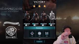 Shadow Of War Mobile: First Look Gameplay