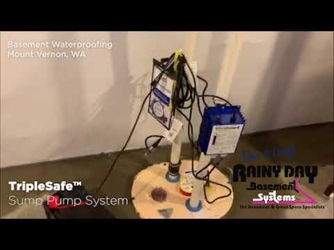 Mount Vernon, WA Basement Waterproofing...