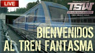 🔴 Directo de Train Sim World - Sucesos paranormales en el tren fantasma