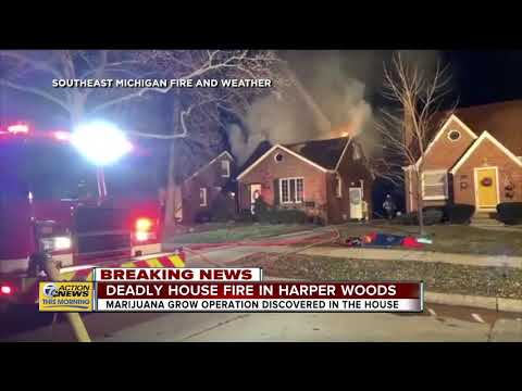 Deadly house fire in Harper Woods
