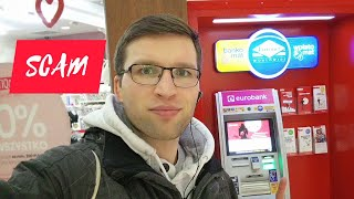 How to use ATM abroad? Watch for SCAM!