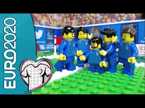 Week of EURO 2020 Qualifiers, Friendly Match and World Cup qualifiers in Lego Football Film