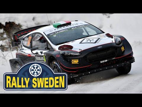 Rally Sweden 2019 - L. Bertelli / S. Scattolin - Ford Fiesta WRC+