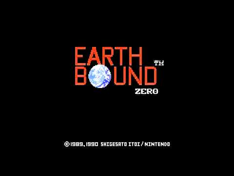 EarthBound - Title Screen & Opening Credits [HQ] - смотреть