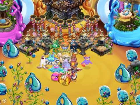 My Singing Monster || Fire Oasis
