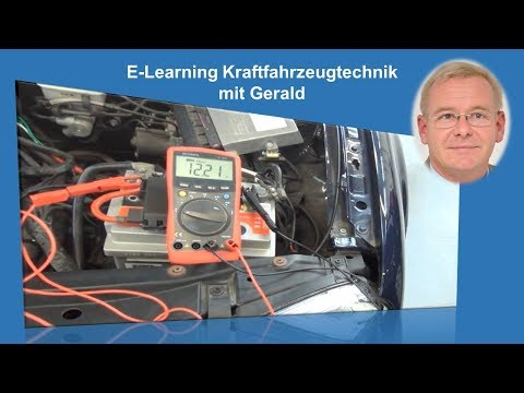 Batterietest Batterie Fahrzeugbatterie Starterbatterie Prüfanleitung Test Funktion