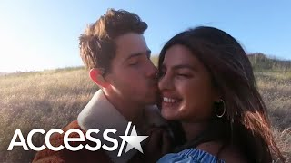 Nick Jonas & Priyanka Chopra Kiss in Music Video