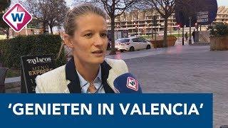 Mandy van den Berg voelt zich thuis in Valencia: 'Ik ben een heel gelukkig mens' - OMROEP WEST SPORT