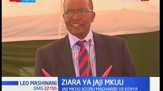 Jaji mkuu David Maraga ahotubia wakaazi wa Kakamega