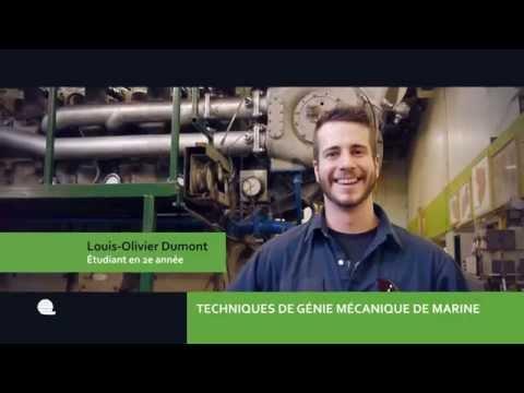 DEC | Techniques de génie mécanique marine