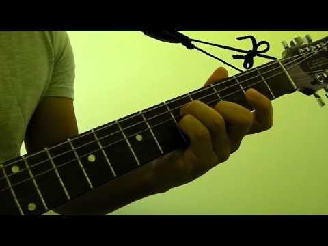 How to Play  Cm (C Minor) Guitar Bar Chord