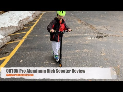 OUTON Pro Aluminum Kick Scooter Review