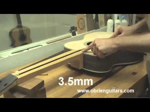 Robert O'Brien Online Acoustic Guitar Building Course Sample ...