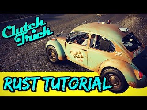 How to Paint Rust like a pro , Forza Horizon 4 - смотреть онлайн на