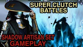 Shadow Fight 3 - Shadow Artisan Set Full HD #Gameplay | 720p60fps | OP Set ????
