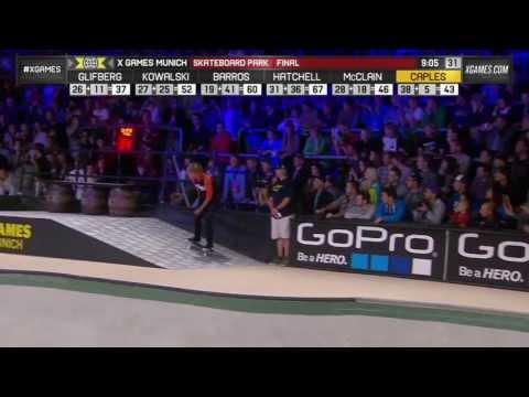 Curren Caples SKB Park Gold - ESPN X Games